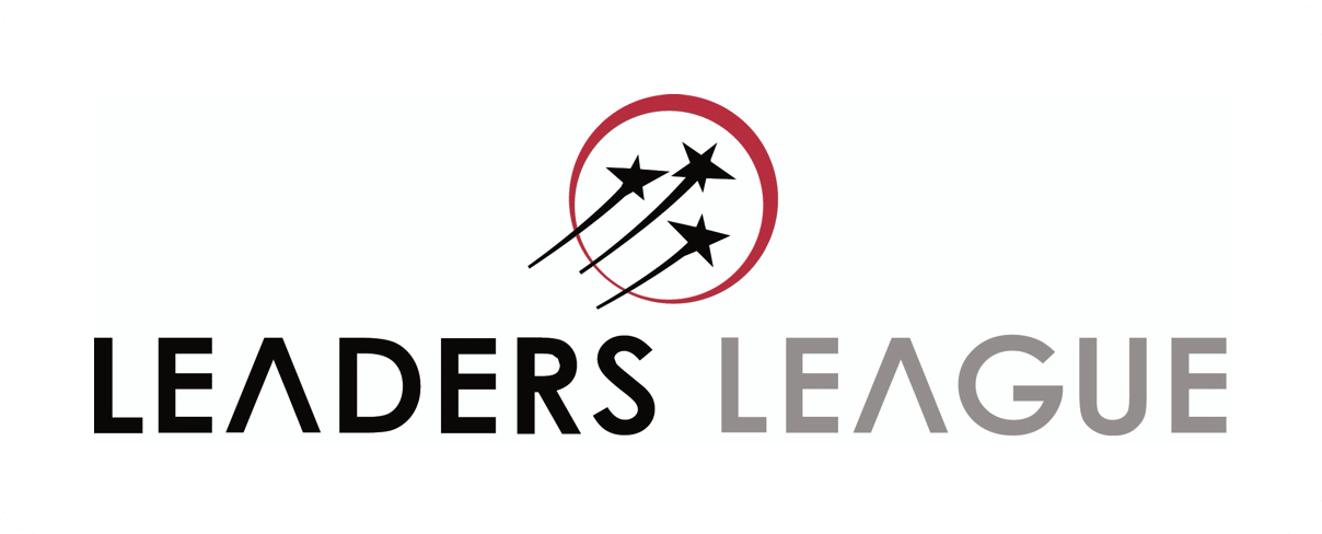 Leaders league - logo (blanc)