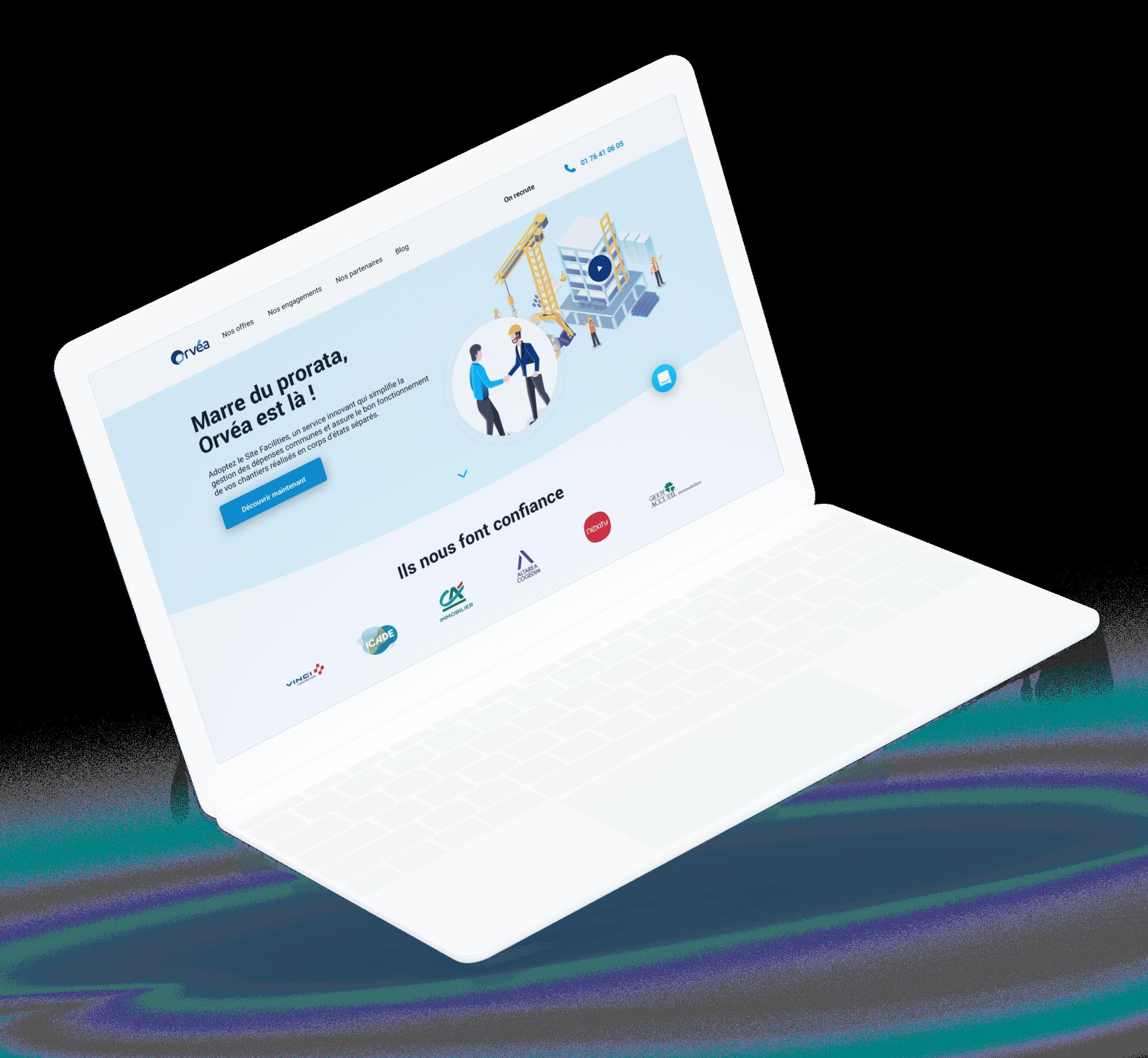 Orvéa - site web desktop