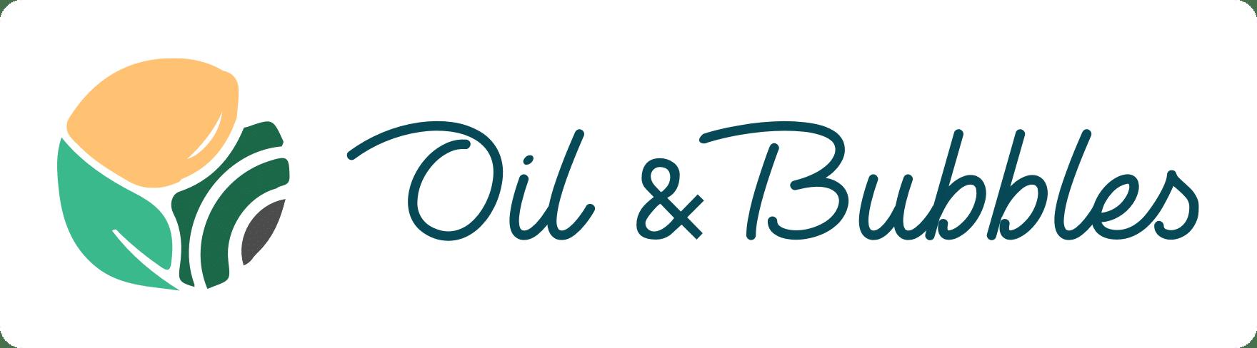 Oil & Bubbles - logo (blanc)