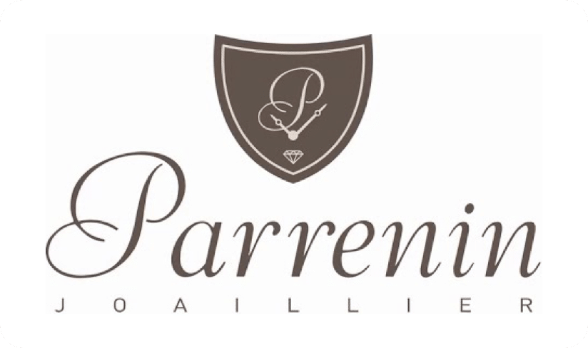 Maison Parrenin - logo (blanc)