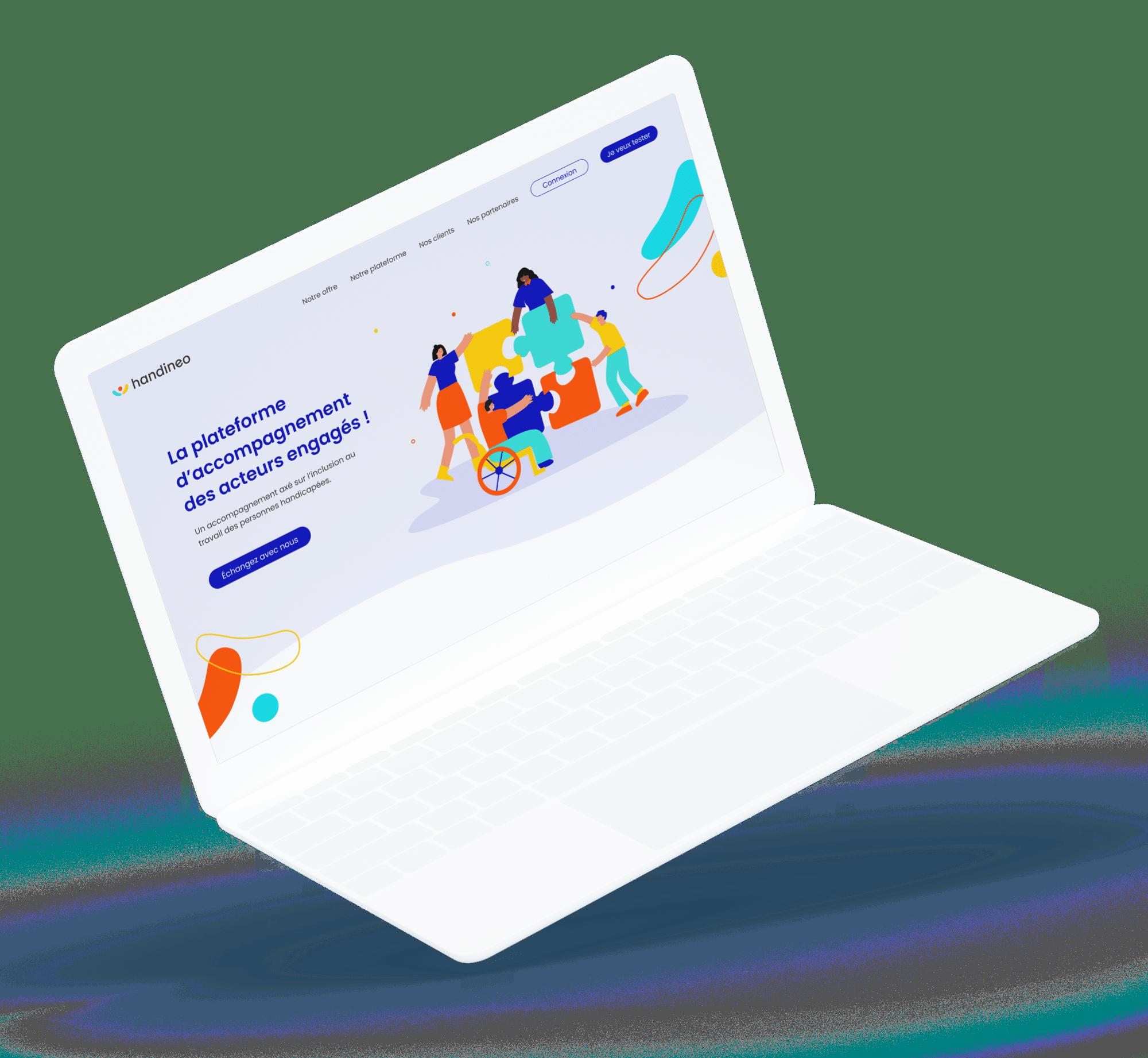 Handineo (plateforme) - plateforme desktop